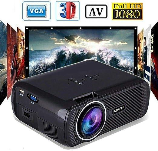 7000 Lúmenes Uhappy LED 1080P Proyector Home Cinema Multimedia ...