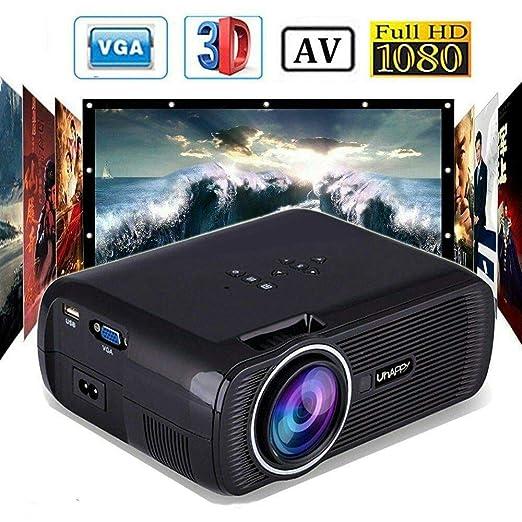 7000 Lúmenes Uhappy LED 1080P Proyector Home Cinema ...