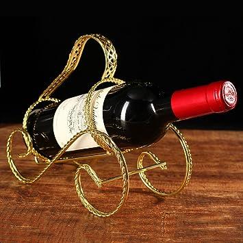 Amazoncom Cdybox Elegant Magic Metal Wire Wine Single Bottle