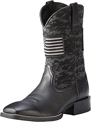 Men/'s Ariat Sport Patriot Large SQ Toe 10027206 NEW IN BOX