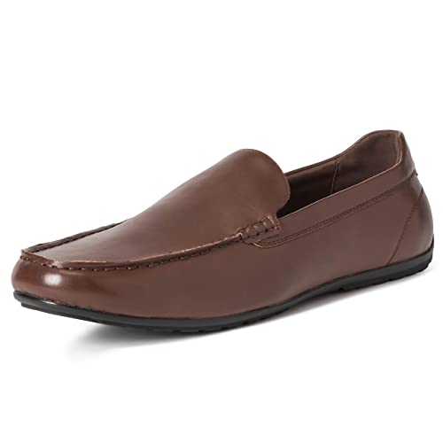 d29cda3e795 Mens Queensbery Arthur Penny Driving Moccasin Leather Office Loafers