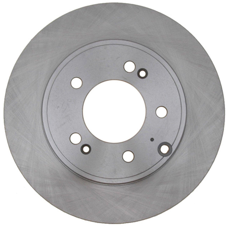 ACDelco 18A2820A Advantage Non-Coated Rear Disc Brake Rotor