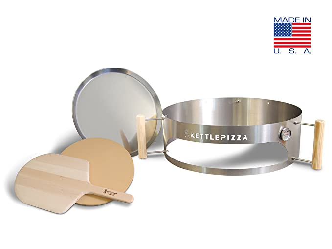 Amazon.com: Fabricado en EE. UU. kettlepizza Deluxe Kit de ...