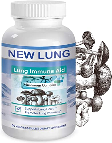 – New 25 Launch Deal – Mushroom Lung Immune Health Supplement by Success Chemistry