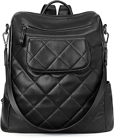 CLUCI Backpack Purse for Women Fashion Leather