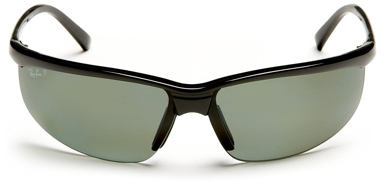 052b977059 Amazon.com  Ray-Ban RB4021 - BLACK Frame POLAR GREEN Lenses 69mm Polarized   Ray-Ban  Clothing