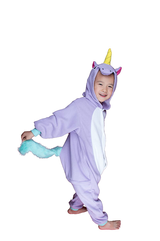 d4f0d36a19a1 Amazon.com  BELIFECOS Childrens Purple Unicorn Costumes Animal Onesies  Cosplay Homewear Sleeping Wear Pajamas  Clothing