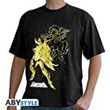 SAINT SEIYA - Tshirt Aiolos Sagittaire homme MC black- basic
