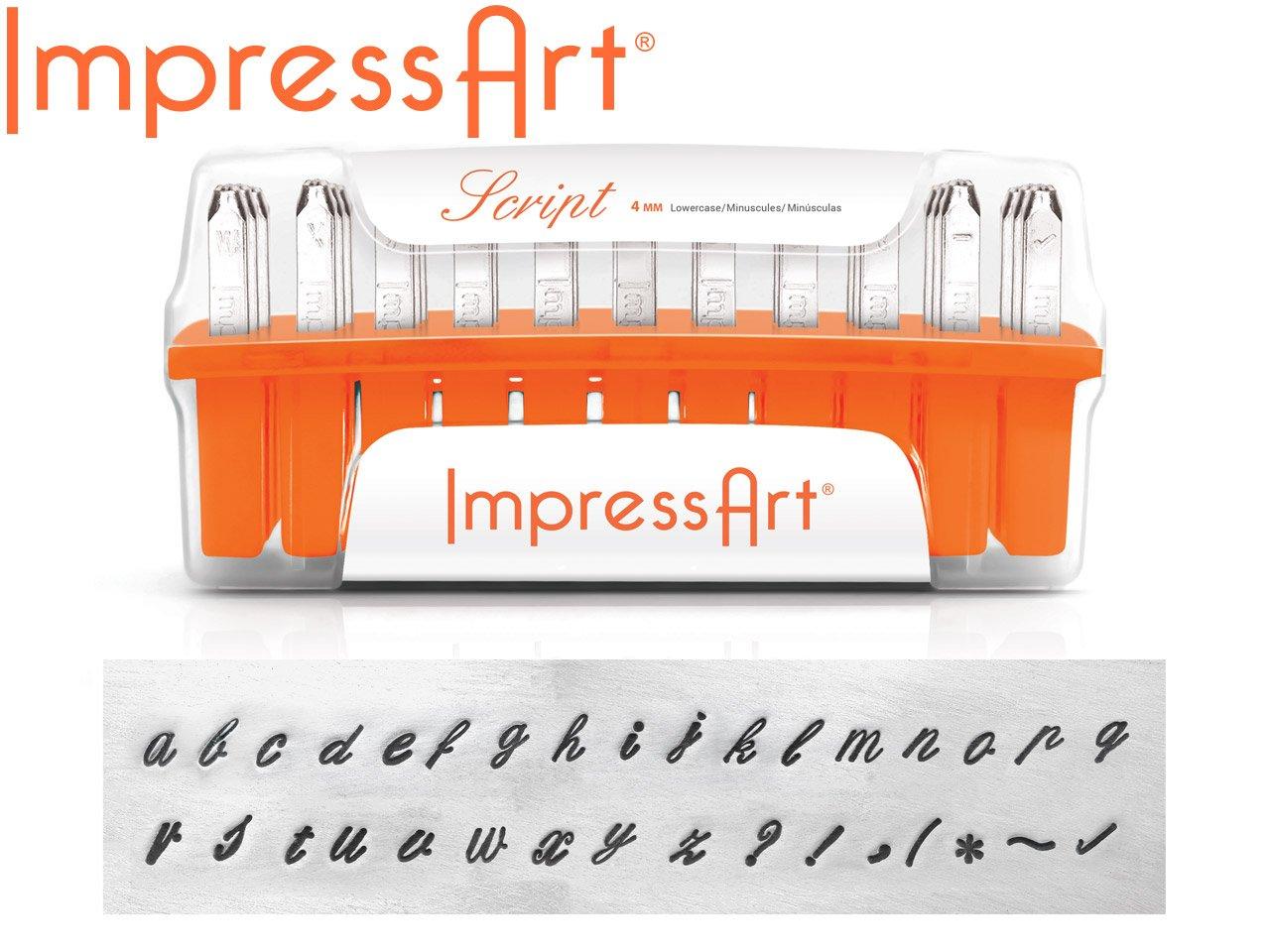 ImpressArt Deco Number Metal Stamps Set, 1.5mm by ImpressArt Metal Stamps SC1123A-1.5mm