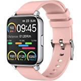 Smart Watch for Women and Men 1.69 inch Touch Screen Fitness Tracker Watch IP67 Waterproof Smartwatch with Heart Rate and Sle