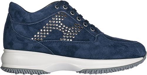 Hogan scarpe sneaker donna interactive H lamina pallini ...