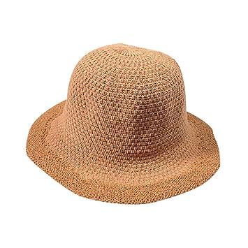 5117c7a7e9f Amazon.com   Summer Beach Sun Hats For Women