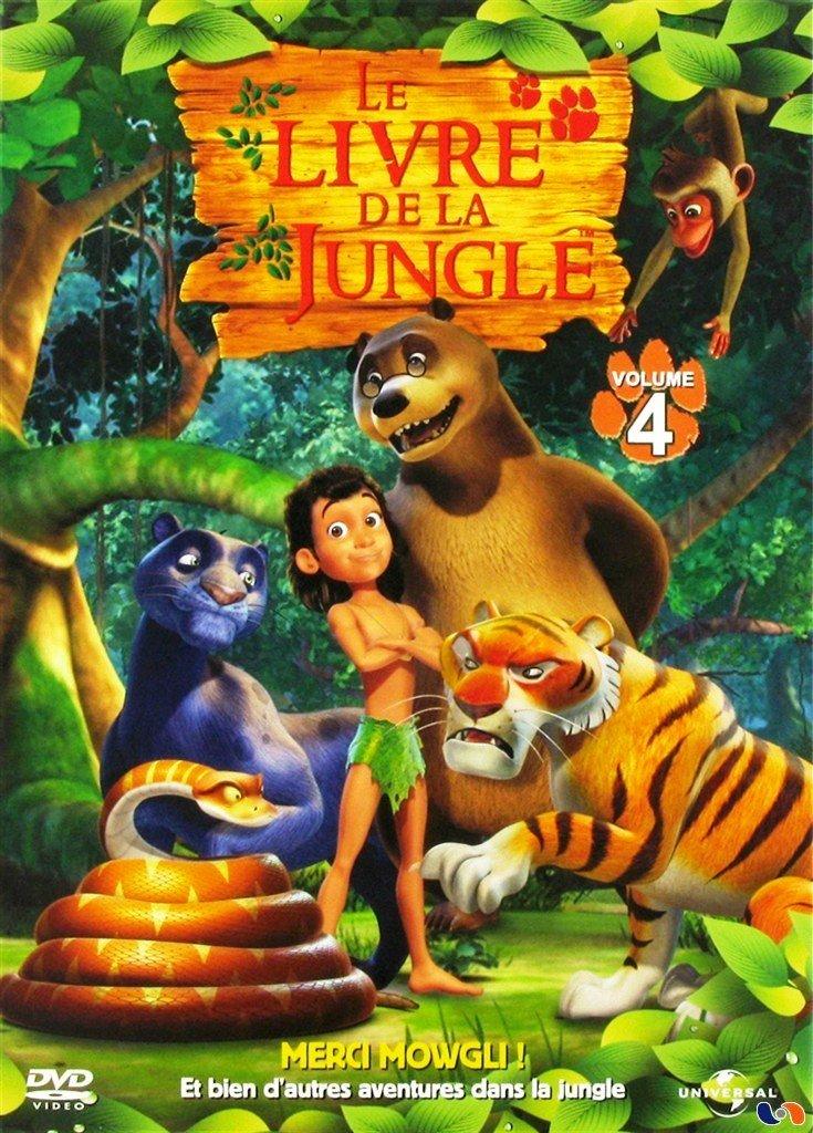 Amazon Com Le Livre De La Jungle Volume 4 Merci Mowgli
