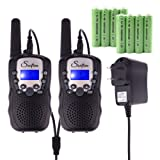 Amazon Price History for:Swiftion Rechargeable Kids Walkie Talkies 22 Channel 0.5W FRS/GMRS 2 Way Radios with Charger and Rechargeable Batteries (Black, Pack of 2)