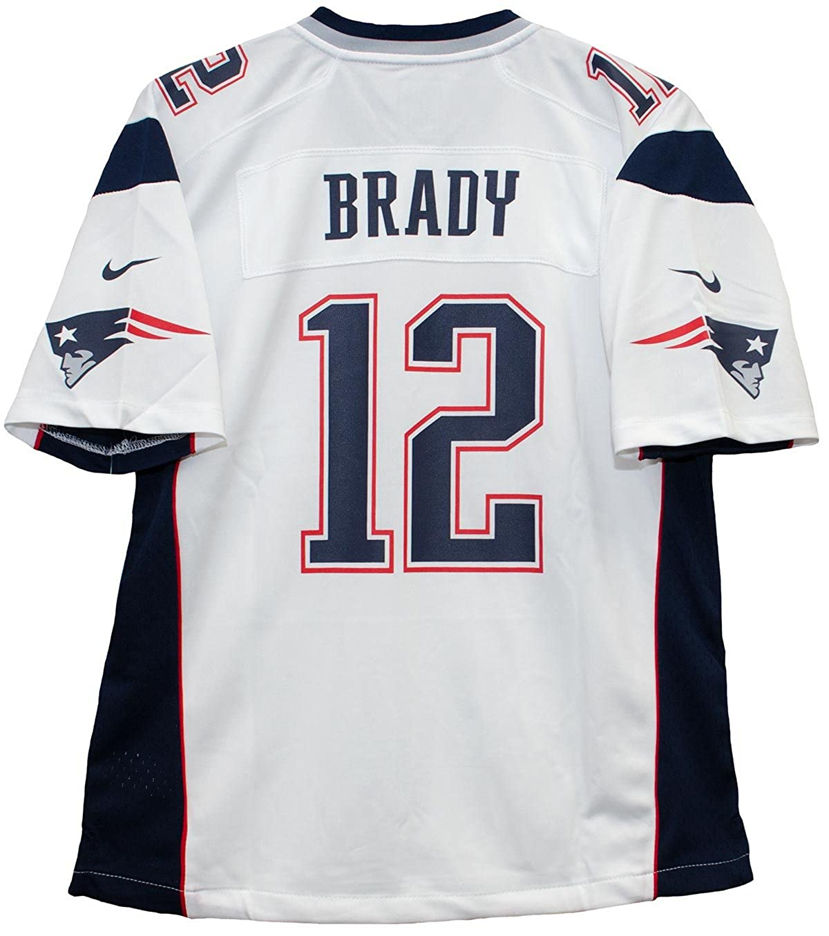 Buy NIKE Tom Brady New England Patriots White Game Youth NFL ...
