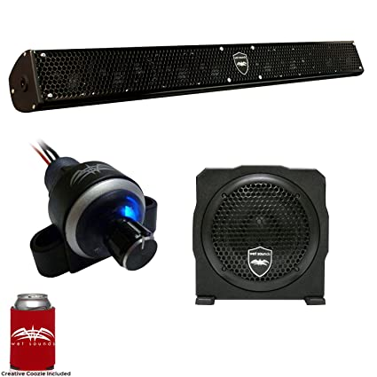 Amazon.com: Mojado sonidos Stealth 10 surge Barra de sonido ...