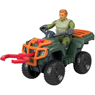 Fisher-Price Imaginext Jurassic World, ATV & Technician: Toys & Games