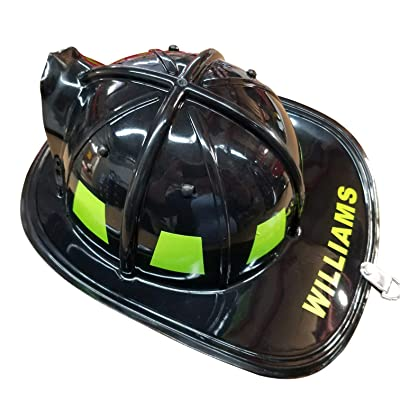 Aeromax Personalized Firefighter Helmets (Red): Clothing [5Bkhe0603295]