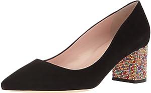 5ec2a968b288 Amazon.com  Kate Spade New York Women s Beverly Pump Amaretto Black ...