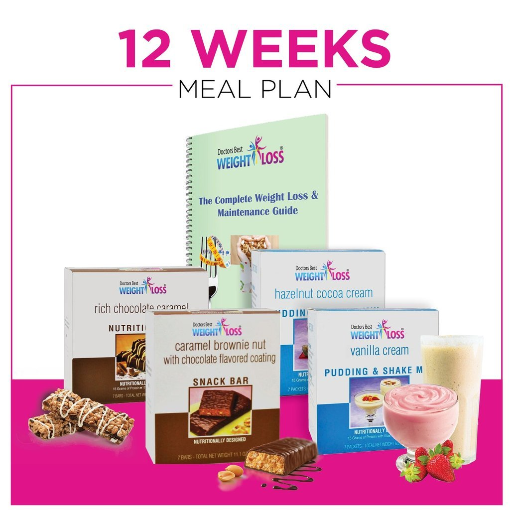 Doctors Best Weight Loss - 12 Week Women's Weight Loss Program - Healthy Meal Replacement Weight Loss & Healthy Lifestyle