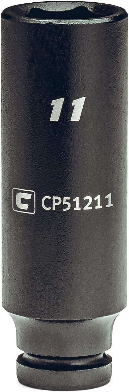 1//4-Inch Drive Capri Tools 9 mm Deep Impact Socket Metric 6-Point