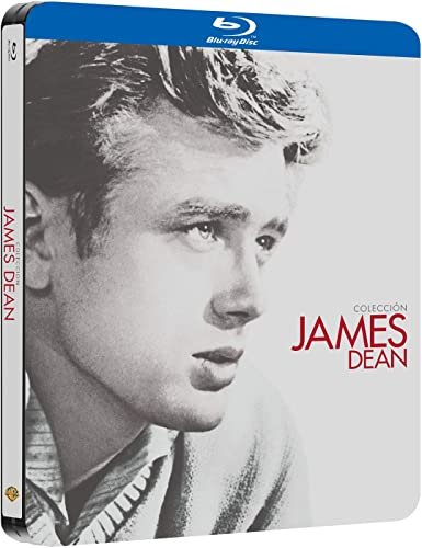 Pack James Dean Black Metal Edition Blu-Ray [Blu-ray]: Amazon.es: James Dean, Julie Harris, Elizabeth Taylor, Natalie Wood, Sal Mineo, Raymond Massey, Elia Kazan, Nicholas Ray, George Stevens, James Dean, Julie Harris: Cine