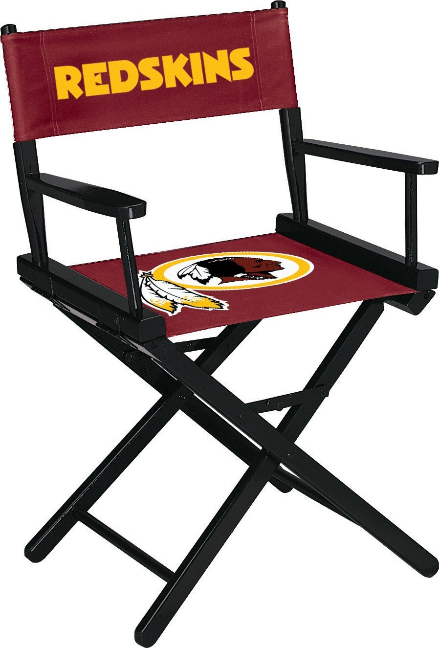 Imperial Officially Licensed NFL Merchandise: Directors Chair (Short, Table Height), Washington Redskins