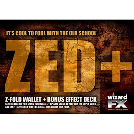Amazon com: MMS Zed Wallet (with Jazzy Joker Trick) by World