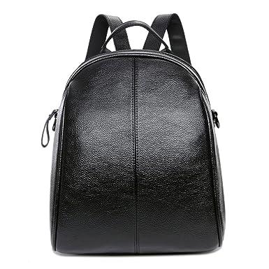 db0cfac218081 LAIDAYE Weibliche Tasche College Tasche Tasche Damen Schulter Tasche Große  Kapazität Reisebeutel Rucksack Dame Weichen Ledertasche