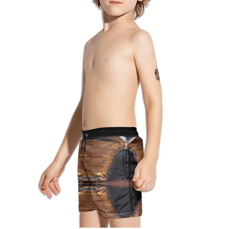 Ouxioaz Boys Swim Trunk Clipart Books Beach Board Shorts