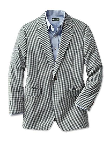 3. Orvis Wrinkle-Free Gingham Sport Coat