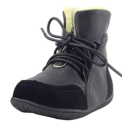 Kids Girls Boys  Ankle Boots Winter Warm Martin Boots Baby Toddler Shoes Size