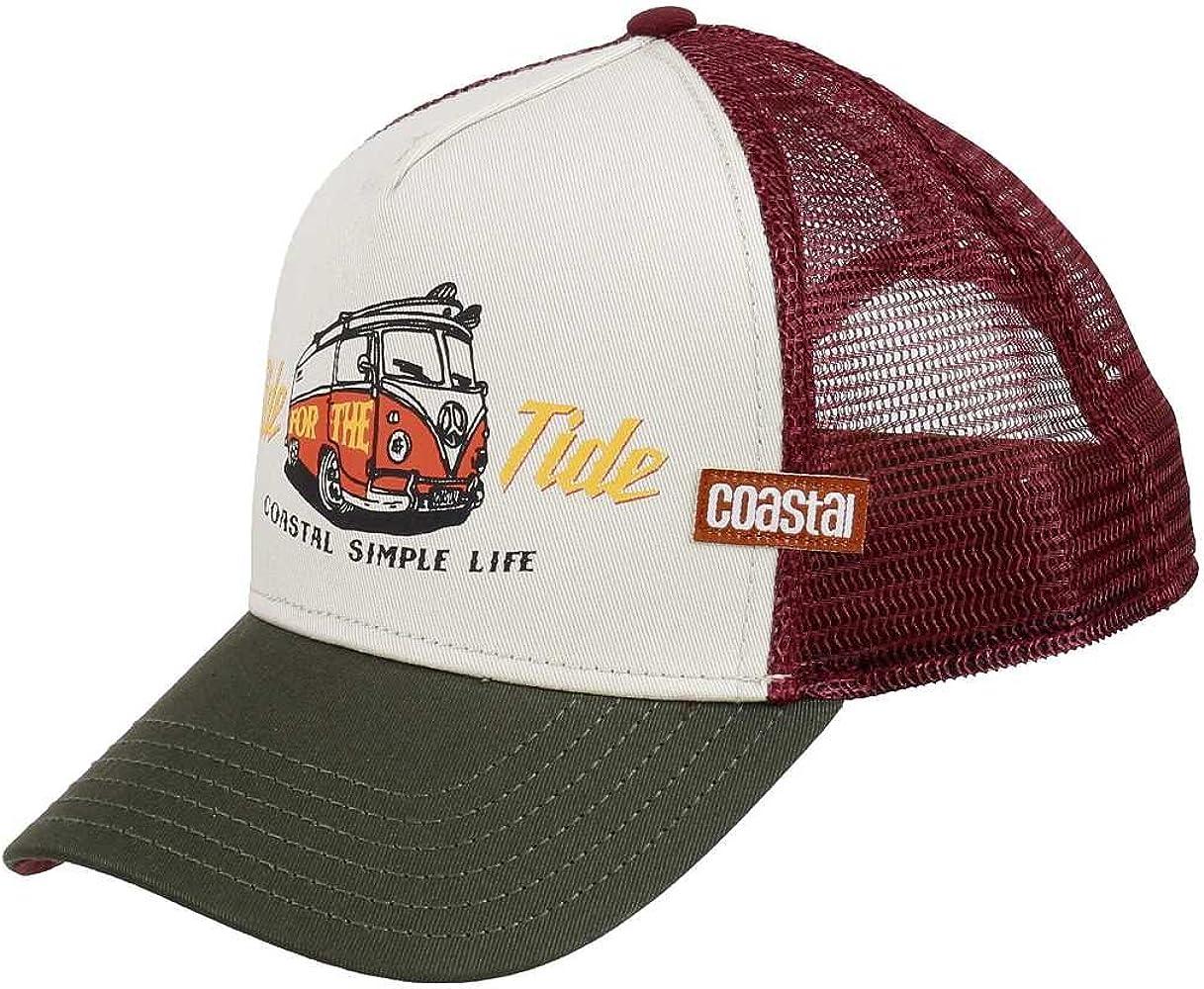 Coastal - Ride Tide (Beige) - Trucker Cap Gorra del Camionero de ...