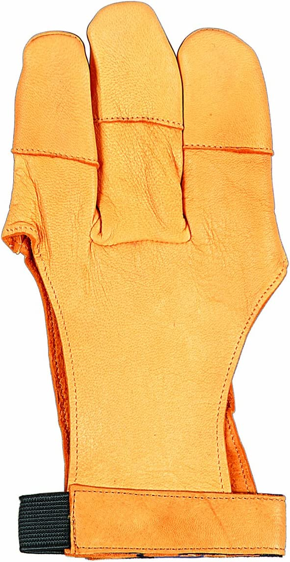 Allen Traditional 3 Finger Archery Glove Realtree Xtra