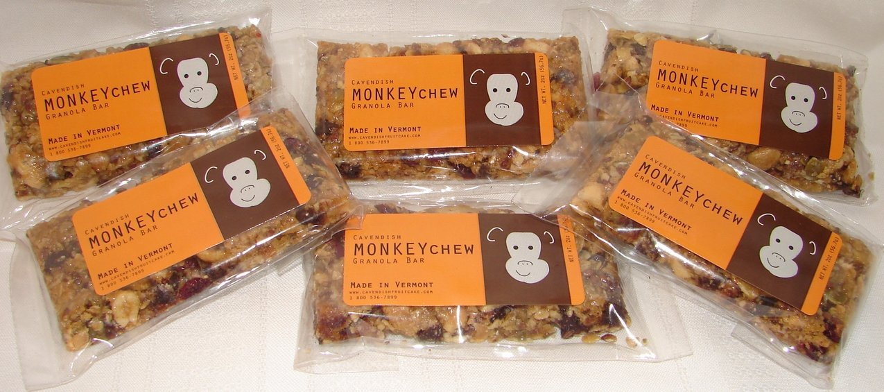 Monkeychew Granola Bar 6 pack