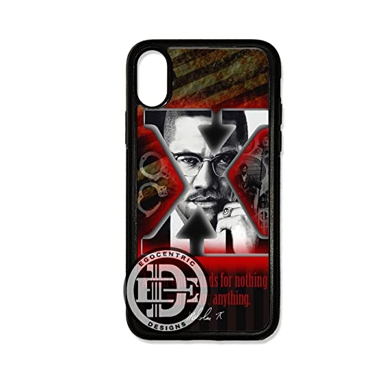 Amazon Com Iphone X Egocentric Design Co Red Tan And