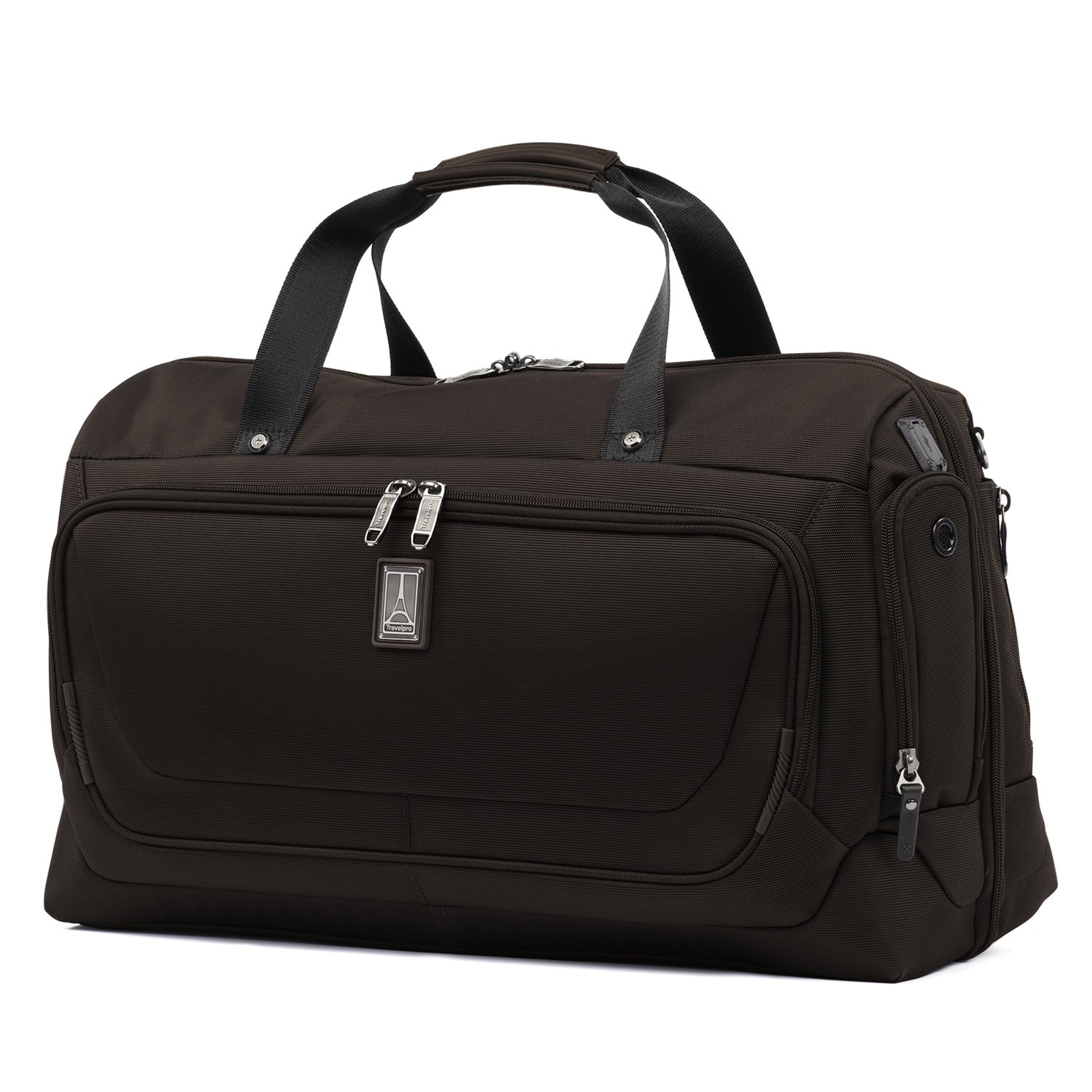 Travelpro Crew 11 Carry-on Smart Duffel, Mahogany Brown