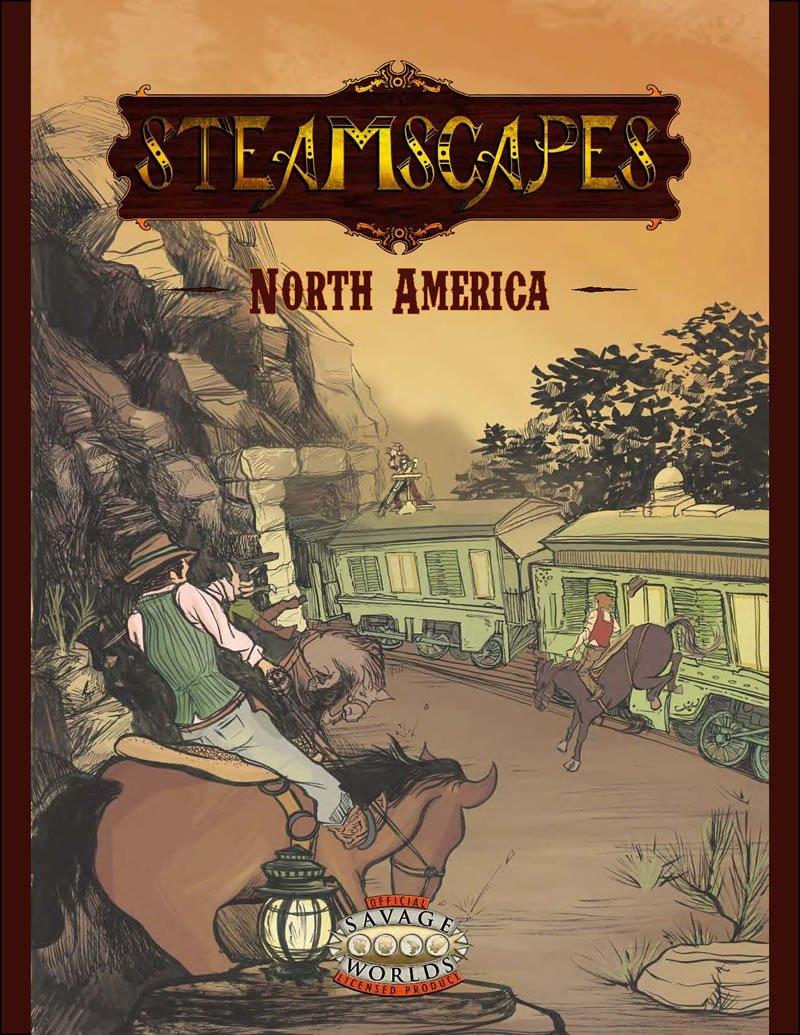 Amazon.com: Steamscapes: North America (FIH10001, Savage Worlds ...