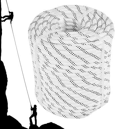 Cuerda De Escalada 12mm, Blanco Cuerda De Seguridad para ...