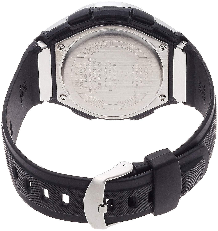 Casio Reloj Analógico-Digital para Hombre de Cuarzo con Correa en Plástico WVA-M650-1A2ER: Amazon.es: Relojes