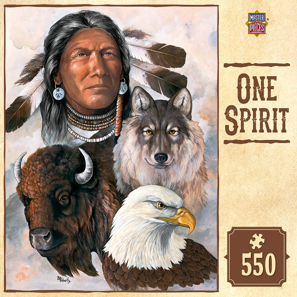Masterpieces One Spirit Jigsaw Puzzle 1000-Piece