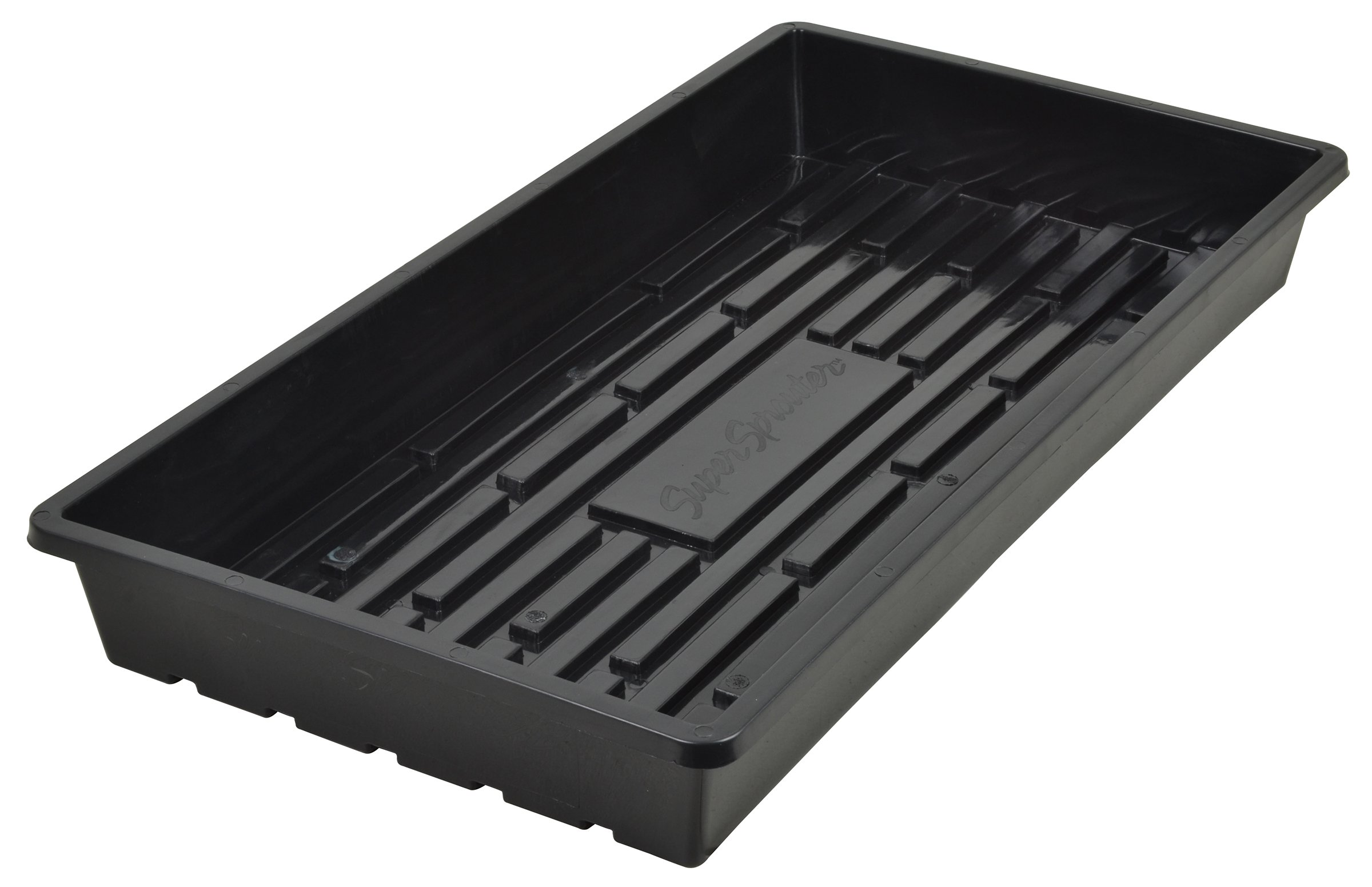 Super Sprouter Quad Thick 10 x 20 Tray - No Hole 5 PK by Super Sprouter (Image #1)