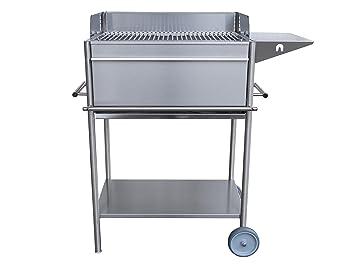 Outdoor Küche Holzkohle : Premio edelstahlgrill edeldesign holzkohle grill fahrbar mit