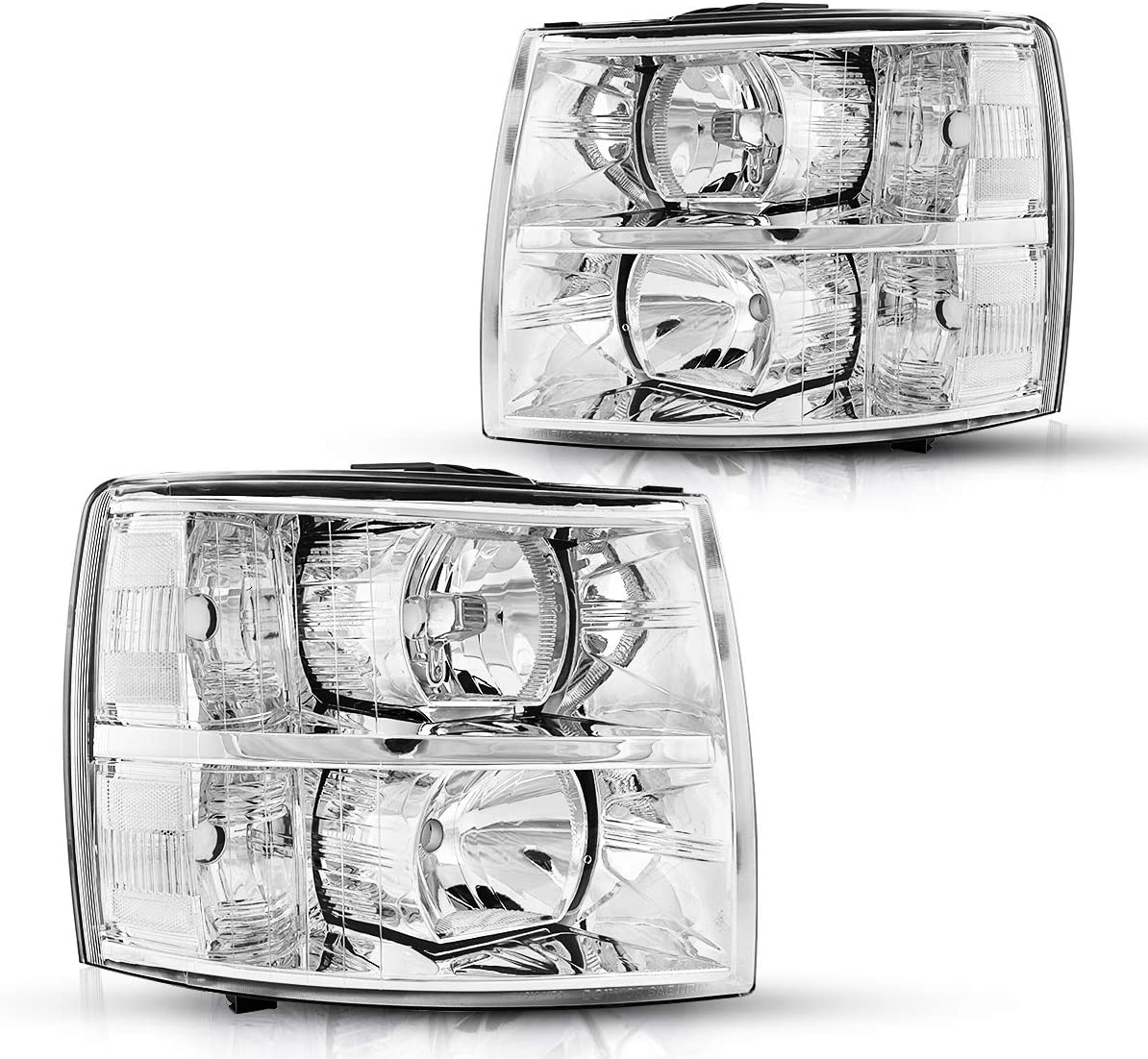 OE # 25833678//22853028 Torchbeam Replacement Headlight Assembly for 2007-2013 Chevrolet Silverado 25833679//22853027