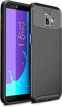 iBetter Samsung Galaxy J6 Plus 2018 Funda Suave y Duradera, Funda de TPU. Funda para Smartphone Samsung Galaxy J6 Plus 2018.Negro: Amazon.es: Electrónica