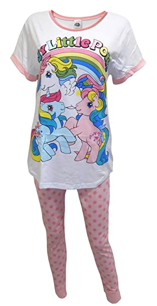 "My Little Pony ""Rainbow"" Mujeres Pijamas XL"