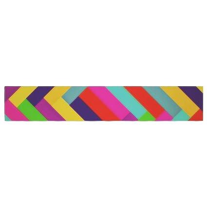 KESS InHouse Danny Ivan Rainbows Multicolor Table Runner 16 x 180