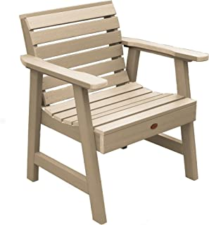 product image for highwood AD-CHGW1-TAU Weatherly Garden Chair, Tuscan Taupe