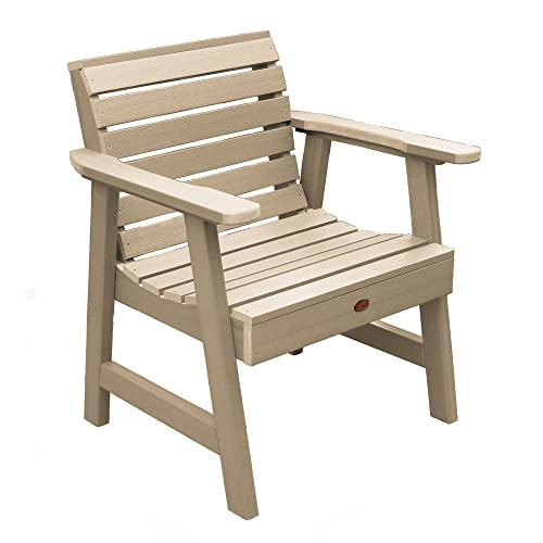 highwood AD-CHGW1-TAU Weatherly Garden Chair, Tuscan Taupe
