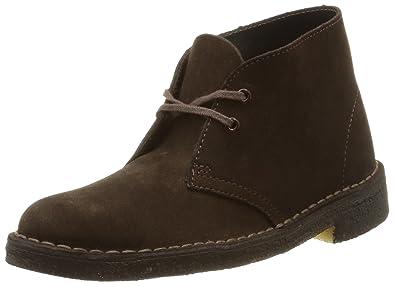 Clarks Originals Desert Boot, Damen Desert Boots, Braun (Brown Suede), 38 EU